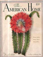 1936 American Home December-Houses in Yukon OK, Webster Groves MO; Ft Smith AR