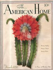 1936 American Home December-Houses in Yukon OK, Webster Groves MO; Ft Smith AR