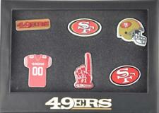 Forever Collectibles San Francisco 49ers 6 Piece Pin badge set le PINS NFL NEW