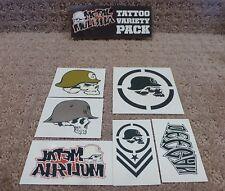 "Metal Mulisha stickers "" Tattoo Variety Pack ""  Sticker --Free Shipping"