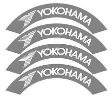 4x Yokohama pneus Stencils, badauds, Fatlace, Rsf, DRIFT