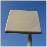 18dBi WIFI WLAN Wireless Copper dipole Panel Antenna N Horizontal Beamwidth 20°