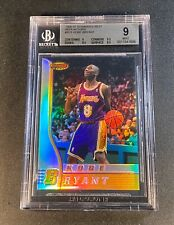 KOBE BRYANT 1996 BOWMAN'S BEST #R23 REFRACTOR ROOKIE RC BGS 9 W/2 9.5 SUBS