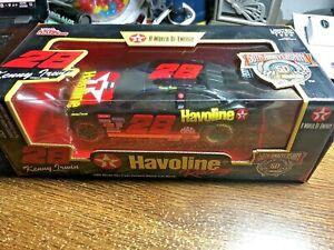 1/24 1998 KENNY IRWIN Texaco Havoline Bank Car with Black Windows Limited Edt