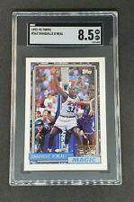 Shaquille O'Neal 1992-93 Topps Rookie Card #362 SGC 8.5 Shaq