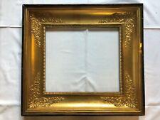 Bilderrahmen alt vergoldet Holz Empire Palmetten Frankreich um 1800 Nr.95
