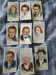 Film Stars (1934 Second Series) John Player & Son - Complete Your Set