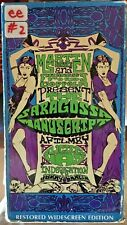 The Saragossa Manuscript (VHS, 2-Tape Set) 1965 Polish cult classic; subtitles