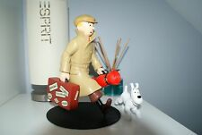 Extremely Rare! Tintin with Snowy Traveling Limited Edition Figurine Statue