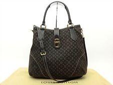 Louis Vuitton Authentic Monogram Idylle ELEGIE Tote Cross body Shoulder Hand Bag