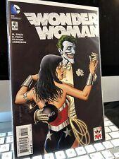 Wonder Woman #41 - NM - Joker 75 Variant - DC New 52 - Finch, Glapion