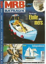MODELE REDUIT DE BATEAU N°458 MINI-CLINS POUR MINI-CANOTS / INDEPENDENCE
