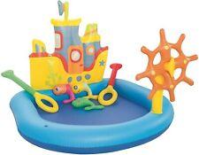 Piscina infantil barco con timon. Nueva. Envio gratis peninsula