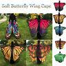 Fashion Women Lady Long Butterfly Wing Cape Dress Pashmina Soft Scarf Wrap Shawl