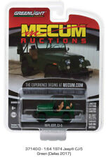 Greenlight 1:64 Mecum Auctions Series 2 1974 Jeep CJ-5 Diecast Car 37140-D