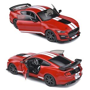 1/18 Solido Ford Mustang GT500 Fast Track Racing Red Neuf Livraison Domicile