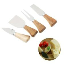 Stainless Steel Polished Cheese Knife Set Cheese Knife Wood Handle Cheese Cutter