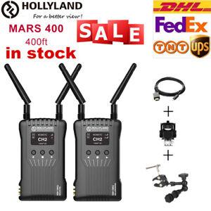 DE HOLLYLAND Mars 400s 300ft Wireless HDMI SDI Video Image Transmitter 1080P