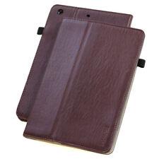 Leder Cover für Apple iPad Mini 123 Hülle Tasche Tablet Case braun +Schutzfolie