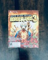 PS4 Borderlands 3 Super Deluxe Collector's Edition DLC (DLC ONLY) NO GAME