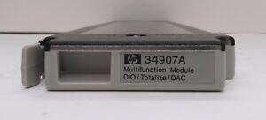 Keysight Agilent HP 34907A Multifunction Module