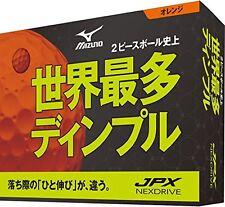 Brand New Mizuno Jpx Next Drive Orange Golf Balls 1 Dozen
