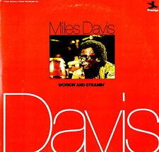 MILES DAVIS - Workin' And Steamin' 1974 Vinile=M 2 LP GATEFOLD Prestige USA RARO