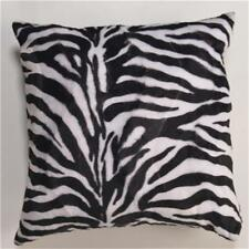 18'' Zebra Thick Faux Fur Pattern Cushion Cover/Pillow Throw Custom Decorative