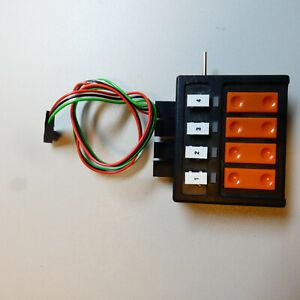 Roco 10520 Weichenschalter mit Rückmeldung gebraucht mit Stecker A-1561