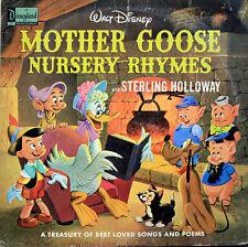 Disney: Mother Goose Nursery Rhymes - LP (#1211)