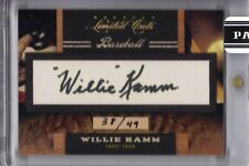WILLIE KAMM 2011 PANINI DONRUSS LIMITED CUTS #38/49
