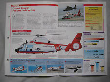 Aircraft of the World Card 29 , Group 7 - Eurocopter HH-65A Dolphin
