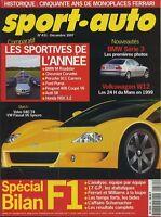 SPORT AUTO n°431 12/1997* BILAN F1 1997 HONDA NSX 3.2 LEXUS GS300 VOLKSWAGEN W12