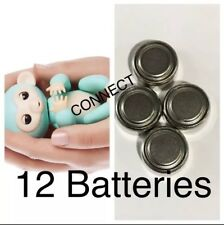 WowWee Fingerlings Electronic Monkey Unicorn Sloth 12 Replacement Batteries