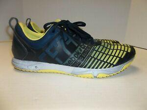 Mens Size 10 Reebok CF74 CrossFit Shoes Yellow/Black