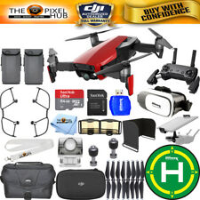 DJI Mavic Air (Flame Red) 2 BATTERY All You Need Bundle IN STOCK NEW