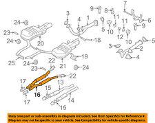 AUDI OEM 07-09 S8 5.2L-V10-Muffler 4E0253409AA