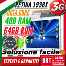 """TABLET 10.1"""" IPS 3G OCTA CORE! 2.0GHz 4GB RAM 64GB ROM ANDROID 5.1 10"""" 9,6"""" 9""""!!"""