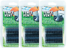 3 packs of 20 Fence Vent spacer discs - fence accessories fence panels