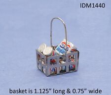 Soda cans Dollhouse Miniatures 1:12 Scale
