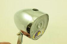 CORDO CASTOR CDS BIKE LED FRONT LIGHT LAMP DARKNESS AUTO SENSOR CHROME LOOK NEW