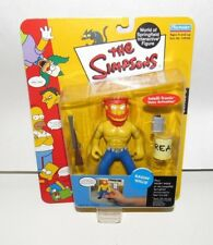 """PLAYMATES SERIES 8 THE SIMPSONS WORLD OF SPRINGFIELD """"RAGIN WILLIE"""""""