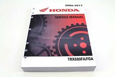 New Service Manual 2006-2017 TRX680 Rincon OEM Honda Shop Repair Book #a53
