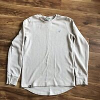 Rare Lifted Research Group Thermal Natural Heather Medium EUC LRG Clothing