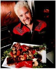 GUY FIERI Signed Autographed DINERS DRIVE-INS AND DIVES 8X10 Photo B 'TRIPLE-D'