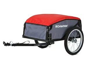 Schwinn Day Tripper Cargo Trailer Compact Storage Red Gray Universal 13 SC320