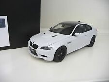 1:18 Kyosho  BMW M3 Coupe E92 weiss white Carbon NEU NEW