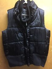 Cruel Girl Women's Juniors Girls Black winter coat Vest X-Large ski turtle neck