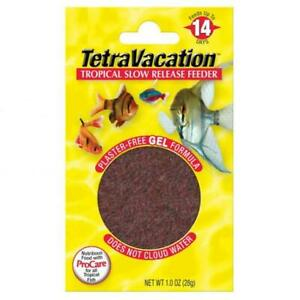 NEW TetraVacation Tropical Slow Release PlasterFree Gel Formula Block Feeder 30g