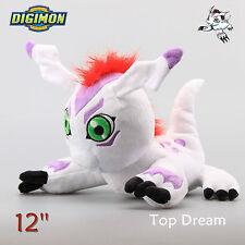 "Digimon Adventure TRI Digital Monster Gomamon Soft Plush Doll Toy Figure 12"" NWT"